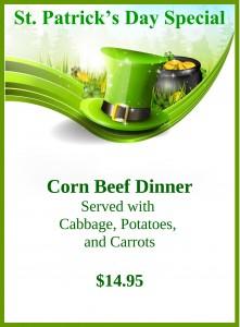 Cornbeef special
